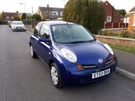 NISSAN MICRA 1.2 SE, ONLY 19,000 MILES, FULL SERVICE HISTORY, NEW MOT, VERY LOW MILEAGE