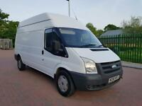 2007 FORD TRANSIT 350 LWB DIESEL HIGH ROOF 2.4 TDCI 100BHP ***NO VAT*** EXCELLENT CONDITION