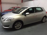 Stunning Immaculate 2009 Toyota Auris 1.3 vvti petrol 5 door do not miss out not many like it