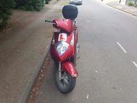 125cc Honda Dylan/ Good runner 75mph