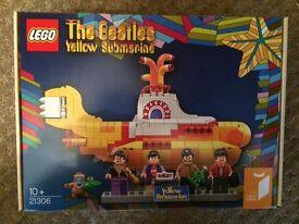 Lego Ideas Beatles Yellow Submarine (21306) NEW BNIB