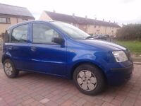 Fiat Panda 1.1 Eco 59 plate, Year MOT, Low milage, Low Tax, Timing belt/service done.