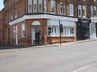 Walk-in High visibility corner shop on main road by town centre available to lease £1125 PCM ONO