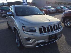 2014 Jeep Grand Cherokee Overland Diesel w/Technology Group
