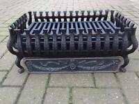 Cast Iron Fire Basket and Grate