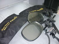 Pyramid Towing Mirrors x 2 in carry-bag Great condition. Rock Steady