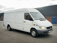 MERCEDES SPRINTER 313 CDI 113 BHP LWB VERY RARE LOW MILEAGE 119,000 MILES IN IMMACUALTE CONDITION