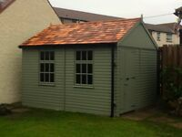 FULL TIME SHED BUILDER REQUIRED - Wages negotiable depending on experience.