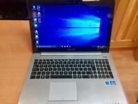 i3 6GB Ram Fast Like New Slim Touchscreen Asus HD Laptop Massive 500GB,Window10,Microsoft office
