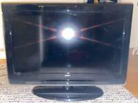 "BUSH 32"" HD READY LCD TV - CHEAP SALE AS NO REMOTE"
