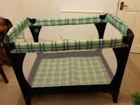 Travel Cot, in VGC from smoke and pet free home.