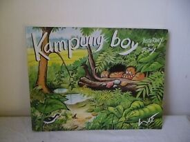 KAMPUNG BOY,YESTERDAY AND TODAY BOOK