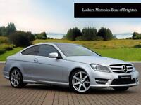 Mercedes-Benz C Class C220 CDI AMG SPORT EDITION PREMIUM PLUS (silver) 2014-04-07