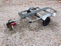 Motorcycle Trailer / Motorbike - Carries a Single Motorcycle, could be converted for quad bike!
