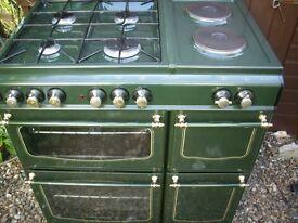 range 70cm duel fuel cooker