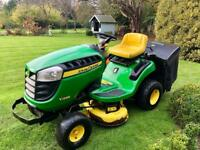 John Deere X135R Ride on Mower - Rear collector - Lawnmower - Countax/Kubota/Stiga