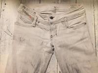 Diesel skinny jeans in light grey - W 27 L 32