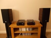 Rega and Focal Aria set up. In very good condition. Real Hi Fi.