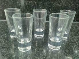 Five Shot Glasses