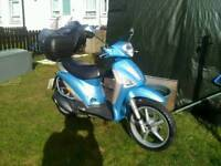 Add image to my adpiaggio liberty 125 2006 lmmaculate condition one years motvert