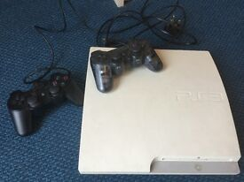 Sony PS3 with controllers & games