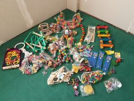 Large bundle of NEW parrot/bird toys-Absolute bargain