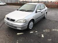 Vauxhall Astra 1.4 ls low miles moted good condition may p/x or swap £495 ono