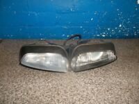 CAGIVA MITO EVO HEADLAMP BREAKING BIKE