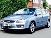 FORD FOCUS 1.6 AUTO ZETEC 2006 LOW MILEAGE SERVICE HISTORY 1YRS MOT CLEAN&TIDY 3 MONTHS WARRANTY