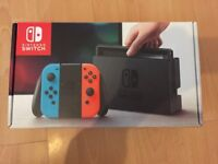Nintendo switch brand new with cars game