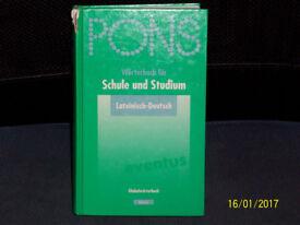 Latin-German dictionary