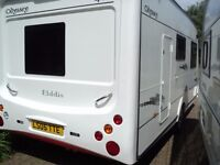 2007 elddis odyssey 482 2 berth motor mover full awning and porch awning new
