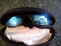 Xcess cat.4 sunglasses with case
