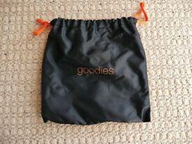 Black and Orange Goodies Gift Party Treats Sweets Bag Childrens Kids Halloween Birthday Christmas