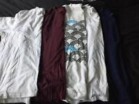 5 men's XXL t shirts