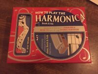 Harmonica Kit - Book, CD and Harmonica