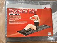 Exercise Mat with PVC Cover 182 cm x 61cm folding
