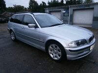 ** NEWTON CARS ** 01 X BMW 320i 2.2 SE TOURING, GOOD OVERALL, ALLOYS, MOT OCT 2018, P/EX POSS, CALL