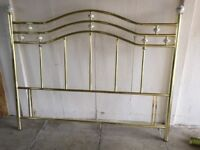 King size bed frame - excellent condition