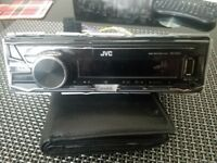 JVC and Kenwood car stereo radio