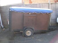 Box Trailer For Sale with tailored cover