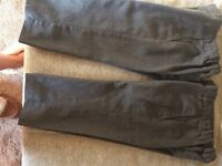 M&S Boys Grey School Trousers 2-3 years - Good condition