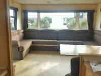 Starter caravan for sale at Camber Sands