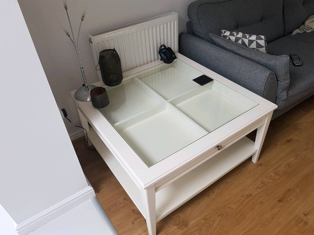 White Ivory Coffee Table