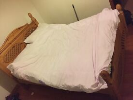 Double bed frame forsale