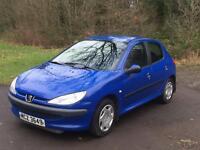 2002 Peugeot 206 1.4 petrol full years mot cheap for quick sale