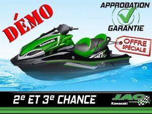 2017 Kawasaki Motomarine Jet Ski Ultra 310LX démo méga rabais en