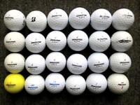 24 Bridgestone golf balls in very good condition, treosoft, E6, 330 rxs,