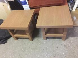 2 Good Quality Side Tables