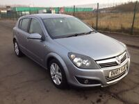 2007 Vauxhall Astra 1.6 sxi , mot - December 2017,service history ,2 owners , focus,207,megane ,golf